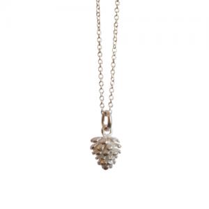 """""""Garden Eden"""" Pinecone - Necklace - Silver"""