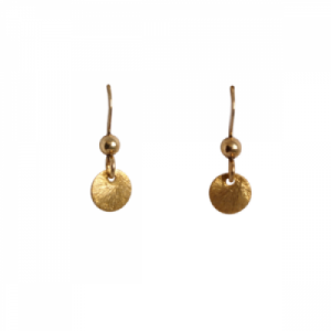 """Spot Classic"" Beam Short - Earring - Gold"