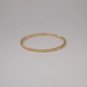 """Sophie"" Twist - Ring - 18 Karat Gold"