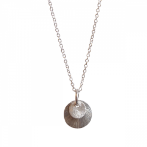 """Spot Classic"" Beam - Necklace - Silver"