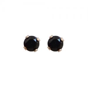 """Solitaire"" Spindel (S) - Stud Earring - 14 Karat Gold"