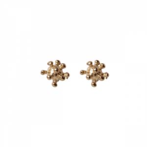 """Garden Eden"" Pollen - Stud Earring - Gold"