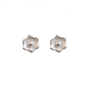 """""""Garden Eden"""" Minifleur - Stud Earring - Silver"""