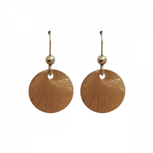 """Spot Classic"" Beam Large - Earring - Gold"