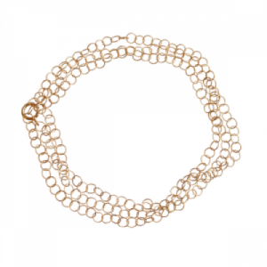 """Sophie"" Twist - Necklace - Gold"
