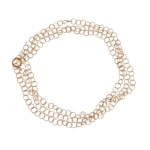 """Sophie"" Twist - Necklace - Gold"