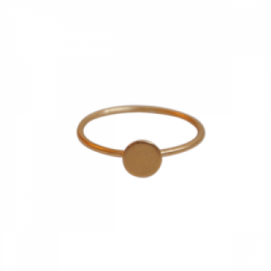 """Spot Classic"" Matt - Ring - Gold"