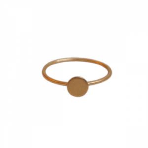 """""""Spot Classic"""" Mat - Ring - Gold"""