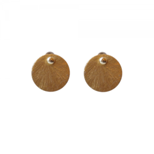 """Spot Classic"" Beam Medium - Stud Earring - Gold"