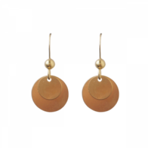 """Spot Classic"" Shiny - Earring - Gold"
