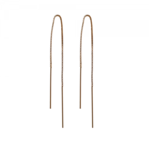 """Stripes & Joist"" Line - Earring - Gold"
