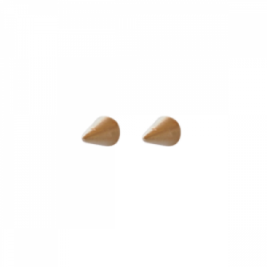"""Cleometra"" Cone - Stud Earring - Gold"