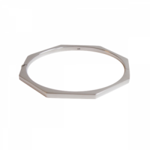 """Cleometra"" Oktagon - Bangle - Silver"