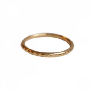 """Panthera"" Notch - Ring - Gold"