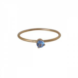 """Solitaire"" Tanzanite (S) - Ring - Gold"