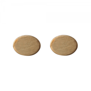 """Sophie"" Ellipse - Stud Earring - Gold"