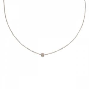 """""""Cleometra"""" Hexagon Square - Collier - Silver"""