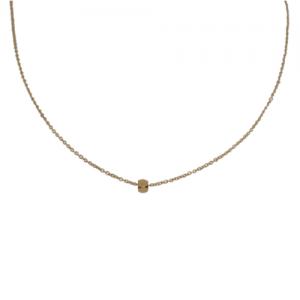 """Cleometra"" Hexagon Square - Collier - Gold"