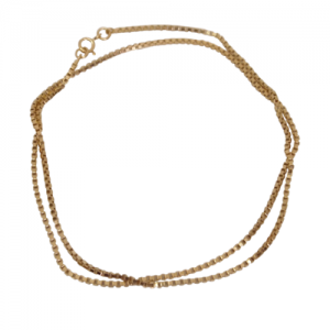 """Cleometra"" Square - Collier - Gold"
