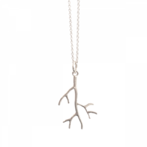 """Garden Eden"" Branch - Necklace - Silver"