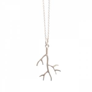 """""""Garden Eden"""" Branch - Necklace - Silver"""