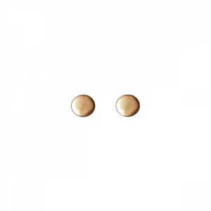 """""""Paillette"""" Single - Stud Earring - Gold"""