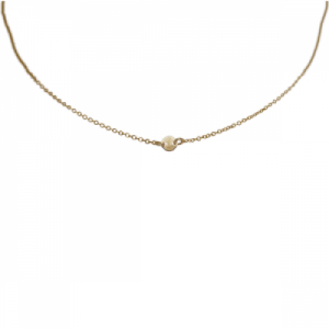 """Paillette"" Single - Collier - Gold"