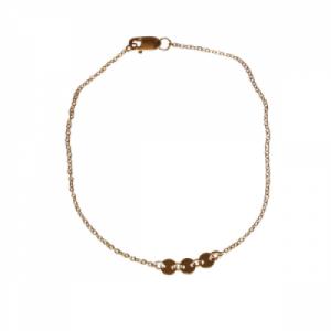 """""""Paillette"""" Three - Bracelet - Gold"""
