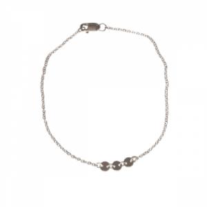 """Paillette"" Three - Bracelet - Silver"