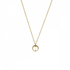 """Paillette"" Coin S - Necklace - Gold"