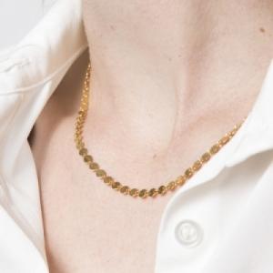 """""""Paillette"""" - Necklace - Gold"""