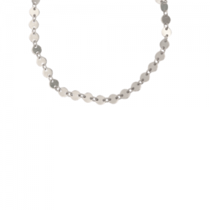 """Paillette"" - Necklace - Silver"