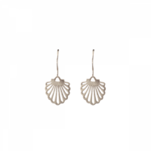"""Hummingbird Shell"" - Earring - Silver"