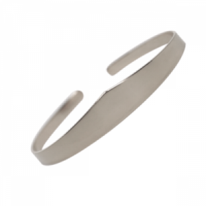 """Solitaire"" Classic - Bangle - Silver"