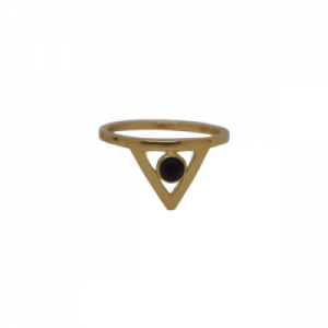 """Trinity"" Illuminati Spindel - Ring - Gold"