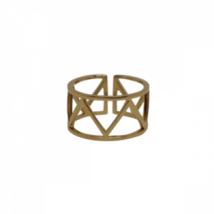 """Trinity"" Endless - Ring - Gold"