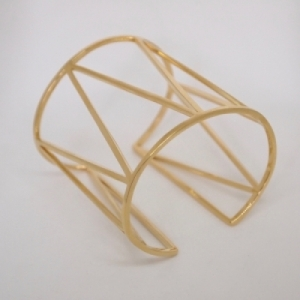 """Trinity"" Endless - Bangle - Gold"