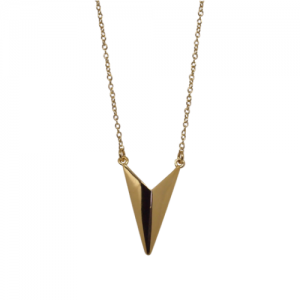 """Trinity"" Shuttle - Necklace - Gold"