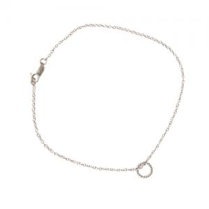 """Sophie"" One Circle - Bracelet - Silver"