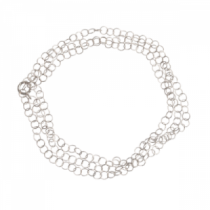 """Sophie"" Twist - Necklace - Silver"