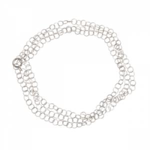 """Sophie"" Twist - Necklace - Silver"