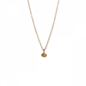 """Sophie"" forget me not knot - Necklace - Gold"