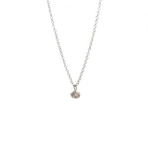 """Sophie"" forget me not knot - Necklace - Silver"