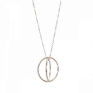 """Sophie"" Saturn - Necklace - Silver"