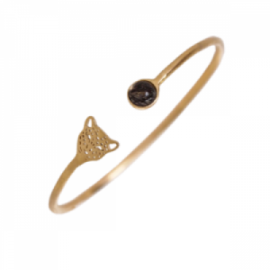 """Panthera"" Bristles & Head - Bangle - Gold"