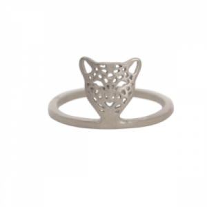 """Panthera"" Head - Ring - Silver"