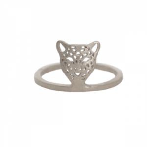 """""""Panthera"""" Head - Ring - Silver"""