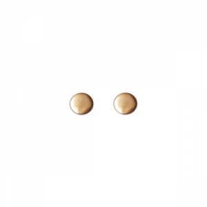 """Paillette"" Single - Stud Earring - 18 Karat Gold"