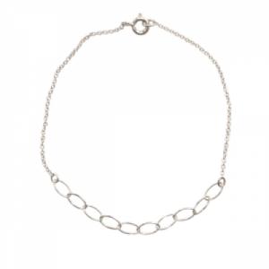 """""""Sophie"""" Cable Ellipse - Bracelet - Silver"""