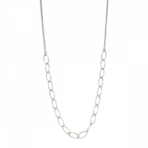 """Sophie"" Cable Ellipse - Collier - Silver"